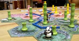 Takenoko im Spiel