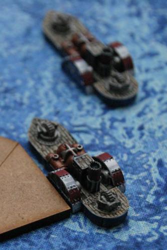 Augusta Class Frigate