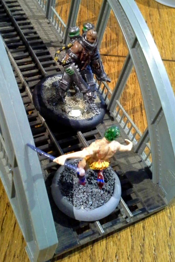 Eden: Begegnung auf der Brücke